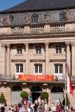 Margravial operahus - Bayreuth royaltyfria bilder