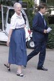margrethe βασίλισσα Στοκ Εικόνες