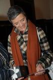 MARGRETHE VESTAGER 50个生日庆祝 库存照片