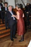 MARGRETHE VESTAGER 50个生日庆祝 免版税库存图片