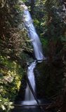 marhut瀑布 库存照片
