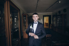 Marié dans le costume photos libres de droits