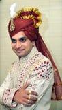 Marié de Gujarati image libre de droits