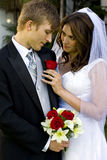 marié de mariée photos stock
