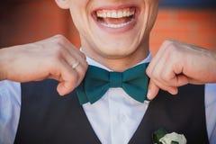 Marié de sourire Images libres de droits