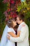 Marié et jeune mariée Photos libres de droits