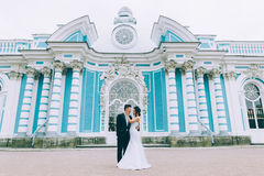 Marié et jeune mariée Photos stock