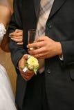 Marié et mariée image libre de droits