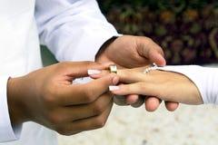 Marié et mariée Images libres de droits