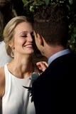 Marié Wedding de jeune mariée photo stock