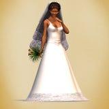 Mariée #03 illustration de vecteur