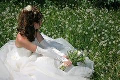 Mariée Photos libres de droits