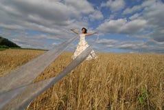 Mariée attirante avec des bandes Images libres de droits