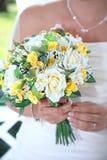 Mariée avec le bouguet Photos libres de droits