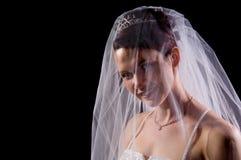 Mariée blanche image libre de droits