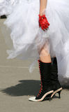 Mariée d'Emo Photo libre de droits
