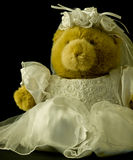 Mariée d'ours de nounours Image stock