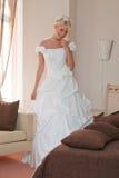 Mariée dans l'intérieur Image libre de droits