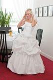 Mariée dans l'intérieur Photo stock