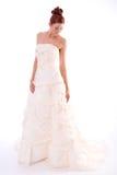 Mariée dans la robe de mariage Photo libre de droits