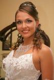 Mariée dans la robe de mariage Photographie stock libre de droits