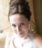 Mariée dans une robe de mariage Image libre de droits