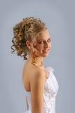 Mariée de sourire 4 image libre de droits