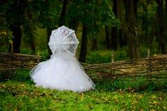 Mariée en nature Images libres de droits