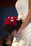 Mariée et bouquet Image stock