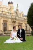 Mariée et marié Photo stock