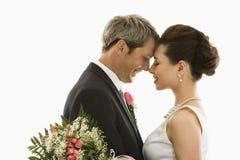 Mariée et marié. image libre de droits