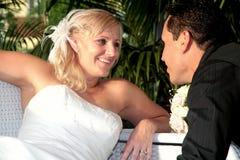 Mariée et marié 4 image libre de droits