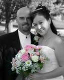 Mariée et marié de mariage photos libres de droits