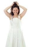 Mariée fâchée Images libres de droits