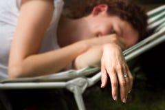 Mariée fatiguée Photographie stock libre de droits