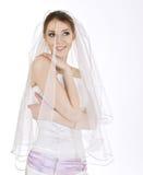 Mariée heureuse Images stock