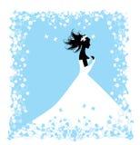 Mariée. Illustration de mariage Image libre de droits