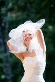 Mariée joyeuse Image libre de droits