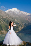 Mariée mariée de femme image stock