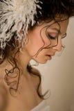 Mariée sensuelle Images libres de droits