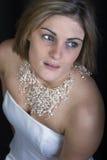 Mariée songeuse Photo libre de droits