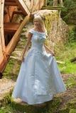 Mariée sur le moulin Photo stock