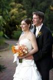 Mari et épouse photo stock