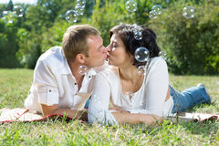 Mari et épouse photo libre de droits