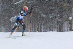 Mari Laukkanen - biathlon Fotos de Stock