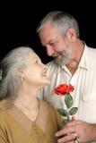 Mari romantique Image stock