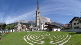 Maria Alm, Austria Royalty Free Stock Photography