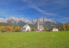 Maria Alm, Salzburgerland, Austria Fotografie Stock Libere da Diritti