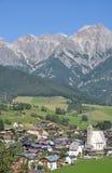 Maria Alm, terra di Salzburger, Austria Fotografia Stock Libera da Diritti