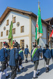 Maria Ascension procession Oberperfuss, Austria. Royalty Free Stock Photo